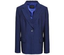 Jacquard Blazer Royal Blue