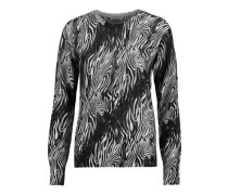 Sloane instarsia-knit cashmere sweater