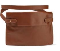 Pocket Leather Belt Bag Tan Size --