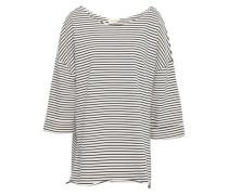 Striped Cotton-jersey Tunic Ecru Size ONESIZE