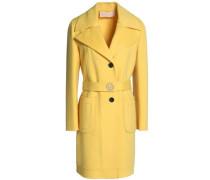 Wool and cashmere-blend felt coat
