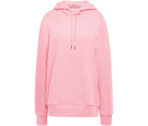 French Cotton-terry Hoodie Baby Pink
