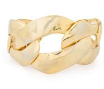 Hammered Gold-tone Cuff Platinum Size --
