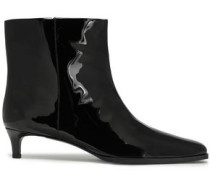 Agatha Patent-leather Ankle Boots Black