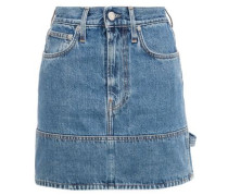 Denim Mini Skirt Mid Denim  9