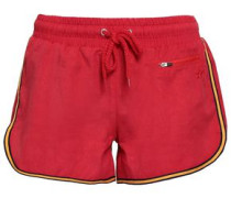 Woven Shorts Red