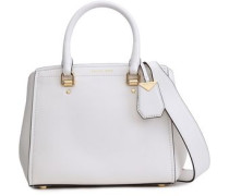 Benning Leather Shoulder Bag White Size --