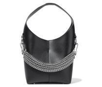 Genesis Chain-detailed Leather Shoulder Bag Black Size --