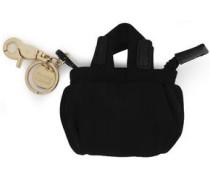 Shell Keychain Black Size --