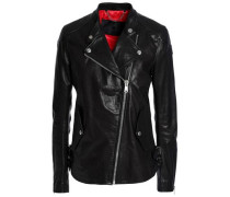 Burnett leather biker jacket