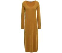 Woman Wool-blend Midi Dress Camel
