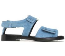 Addis cutout suede sandals