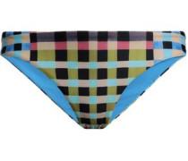 Gingham Low-rise Bikini Briefs Multicolor