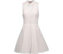 Elly printed chiffon mini dress