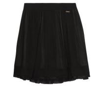 Plissé-voile mini skirt