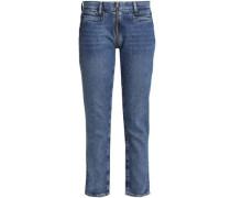Mid-rise Skinny Jeans Mid Denim