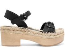 Felipa textured-leather sandals
