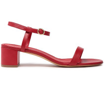 Woman Dolly Leather Sandals Red
