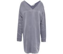 Woman Woven Dress Gray