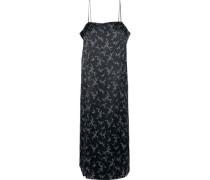Kelby printed silk-satin slip dress