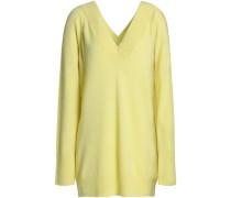 Cashmere Sweater Pastel Yellow