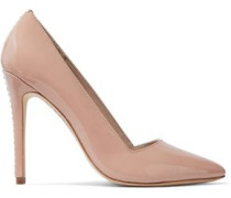 Woman Dina Whipstitched Suede Pumps Blush