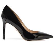Woman Faux Patent-leather Pumps Black
