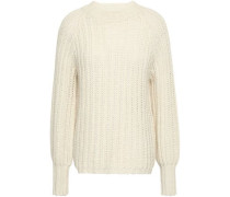 Open-knit Sweater Off-white