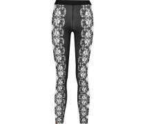 Savanna printed stretch leggings