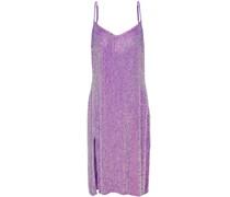 Woman Denisa Sequined Chiffon Dress Lavender