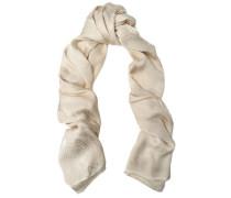 Snake-effect silk scarf