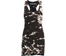 Printed stretch-cotton jersey mini dress