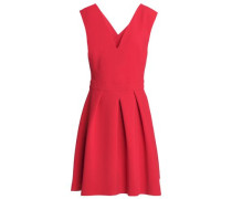 Stretch-jersey Mini Dress Red