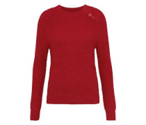 Shade Brushed Alpaca-blend Sweater Red