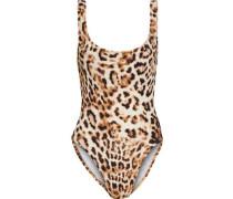 Leopard-print Swimsuit Animal Print
