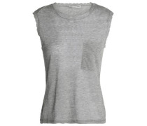 Distressed cotton top