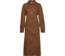 Woman Grant Cotton-gabardine Trench Coat Brown