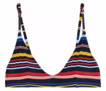 Striped bikini top
