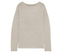 Ribbed Cashmere Sweater Neutral