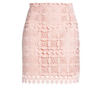 Lonely guipure lace mini skirt