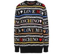 Cotton-jacquard Sweater Black