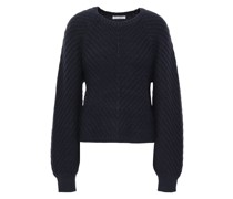 Woman Cotton-blend Sweater Navy