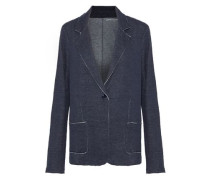 Cotton and cashmere-blend blazer