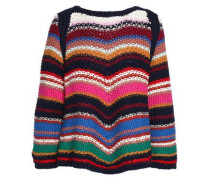 Striped Cotton Sweater Multicolor Size 0