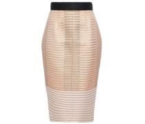 Metallic Jacquard Skirt Antique Rose Size 12