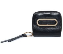 Cracked-leather coin purse