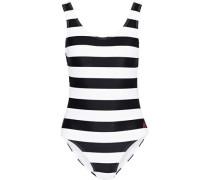 Open-back Swimsuit White