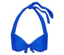 Knotted halterneck bikini top