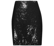 Phoebe sequined crepe skirt