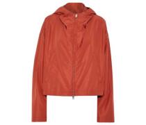 Silk-shell hooded jacket